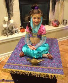 Aladdin Musical, Aladdin Party, Genie Costume, Costume Works, Aladdin Costume, Halloween Costume Contest, Halloween Costumes For Kids, Halloween 2019, Costume Ideas