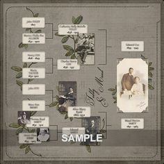 40 Ideas family tree scrapbook ideas link for 2019 Heritage Scrapbook Pages, Vintage Scrapbook, Scrapbook Page Layouts, Family Tree Book, Family History Book, Family Trees, Family Tree Layout, Book Tree, Family Genealogy