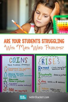 Are Your Students Struggling With Math Word Problems? My students are struggling with understanding math story problems. Anyone tips to get these already struggling readers thinking like mathematicians? Math Tutor, Math Teacher, Teaching Math, Teaching Resources, Math Story Problems, Word Problems, Third Grade Math, Fourth Grade, Problem Solving Activities