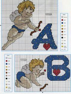 Ângela Bordados: alfabeto dos anjos