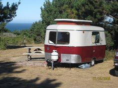 vintage Eriba Faun reno start to finish in pictures on this flickr stream - like a boler vintage travel trailer camper