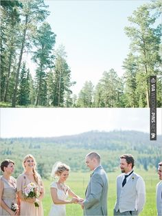 outdoor wedding ceremony | CHECK OUT MORE IDEAS AT WEDDINGPINS.NET | #weddings