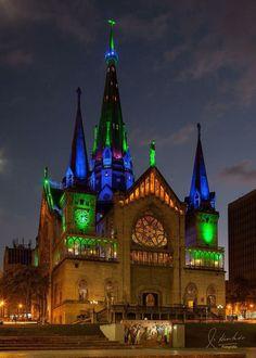Catedral Basílica de Nuestra Señora del Rosario de Manizales, Colombia.