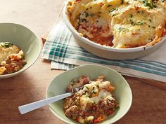 Shephard's Pie: Dark beer is the secret ingredient to this dish's rich, flavorful stew base. Melissa d'Arabian tops it off with garlicky mashed potatoes, melted cheddar and chopped parsley.