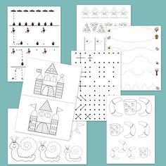 Printable Worksheets, Printables, Floor Plans, Diagram, Bullet Journal, Education, Logo, Logos, Print Templates