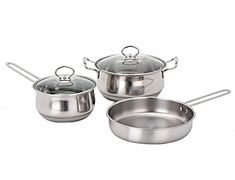 Cookware Sets - 5 Piece Stainless Steel Cookware Pot set for sale in Johannesburg Stainless Steel Dishwasher, Pot Sets, Stainless Steel Material, Cookware Set, Gift Guide