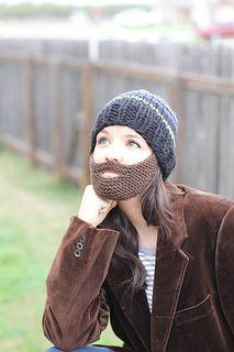 Garter Stitch Beard