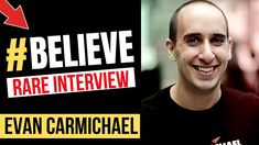 Believe You Can Succeed And You Will - With Evan Carmichael (Rare Interv. When You Believe, Public Speaking, Entrepreneurship, Sentences, Psychology, Crushes, How To Become, Interview, Success