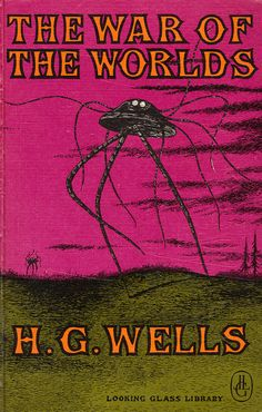 The War of the Worlds by my vintage book collection (in blog form), via Flickr