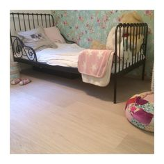 Beautiful and durable also in childrens room. Oak HW Grey, brushed hard wax oiled. Private house in Finland