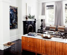 While respecting its heritage and period features the owner of this Sydney terrace injected a subtly modern aesthetic.