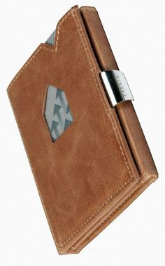 The Exentri Wallet and credit card holder gives you access to your two most frequently used cards without even opening the card holder!
