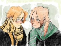 Canada and 2p Canada as Hufflepuff and Slytherin?