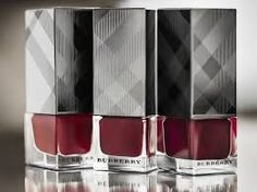 "Burberry Trench Kisses Fall 2013 - nail lacquer in ""oxblood""."
