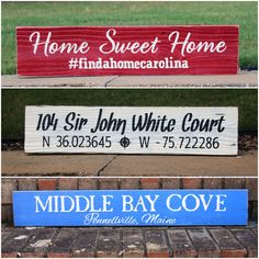 🇺🇸Land of the Free, Home of the Brave! Painted Wood Signs, Custom Wood Signs, Home Of The Brave, Land Of The Free, Happy Independence Day, Personalized Signs, Finding A House, Custom Paint, Painting On Wood
