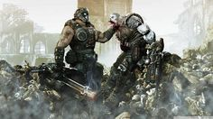 Gears of War 3:-      Published by:   Microsoft  Developed by: Epic Games  Genre: Third-Person Shooter    http://www.buypcgames.org/