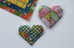 Sew Delicious: Origami Hearts