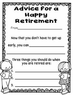 Retirement Advice: A Class Book by Alissa Manning-Telisak Principal Retirement, Retirement Books, Police Retirement Party, Teacher Retirement Parties, Retirement Decorations, Retirement Celebration, Retirement Advice, Retirement Party Decorations, Retirement Party Invitations
