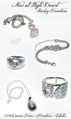 This is the BRAND NEW line of Harley-Davidson® jewelry we now stock at High Desert!