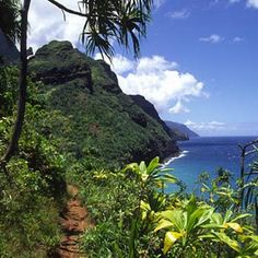 Kalalau Trail in Kauai, HI Like all biking trails in Hawaii this one is no different...simply AMAZING!!!