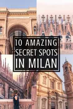 10 secret spots in Milan you should know about for any Italian adventure to the capital of the Lombardy region, Italy. Quirky attractions, offbeat places, and unusual things to do in Milan.