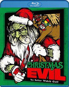 CHRISTMAS EVIL VINEGAR SYNDROME BLU-RAY