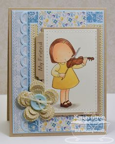 My Friend by karengiron - Cards and Paper Crafts at Splitcoaststampers