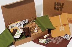 scavenger hunt kit  FAME-Summer Invite & Hunt Kit by Sarah Ehlinger, via Behance