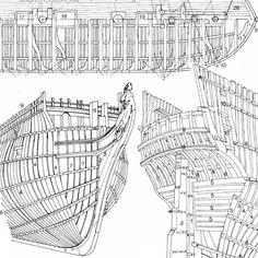 2013-05-24 25 Model Sailing Ships, Old Sailing Ships, Model Ships, Model Ship Building, Boat Building, Wooden Model Boats, Paper Ship, Wooden Ship, Nautical Nursery