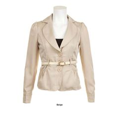 Check out this Chic Belted Blazer with an MSRP of $31.00, but available for $12.00 only @ nomorerack.com
