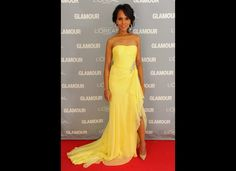 0ff755d62506c Kerry Washington: 'In The Beginning, Anita Hill Wanted Nothing To Do With  Me'. Chiffon Evening DressesChiffon GownStrapless ...