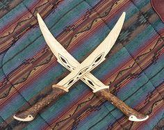 Orcrist Wooden Sword Dwarf Thorin Oakenshield door FunnyFarmToyBarn
