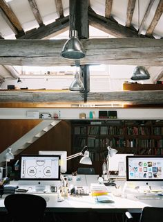 36 Attic Offices. Because Its Monday