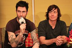Adam Levine and Matt Flynn Songs About Jane, Matt Flynn, Good Smile, Adam Levine, Maroon 5, I Cant Even, Cool Bands, Persona, My Idol