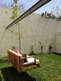 Muebles para exterior: Jardín de estilo translation missing: mx.style.jardín.industrial por Isabel Landa
