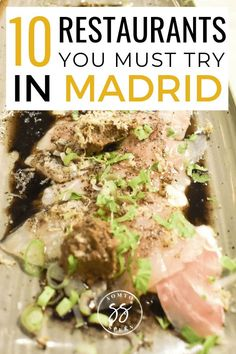 Trying to decide where to eat in Madrid? Here are the 10 best restaurants in Madrid to add to your itinerary. These restaurants offer affordable dishes. Europe Travel Guide, Spain Travel, Travel Guides, Travel Abroad, Travel Advice, Travel Tips, Madrid Food, Madrid Restaurants, Late Night Dinner