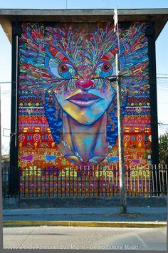 Museo a Cielo Abierto en San Miguel » Murales Painted Stairs, Street Art Graffiti, Banksy, Urban Art, Illustration Art, Illustrations, Cool Art, Artist, Artwork