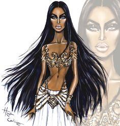 #Aaliyah as Queen Akasha by Hayden Williams #Aaliyah15thAnniversary #QueenoftheDamned #AaliyahWeek