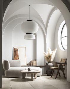 Home Room Design, Interior Design Living Room, Living Room Designs, Living Room Decor, Interior Decorating, House Design, Interior Styling, Living Area, Minimalist Interior