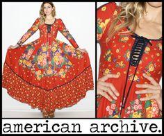 Love old Gunne Sax dresses