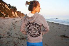 the LOVE mandala hoodie by purushapeople on Etsy, $74.00
