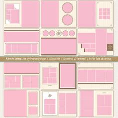 Wedding Al Template For Photographers 8x12 In By Popuridesign 35 00