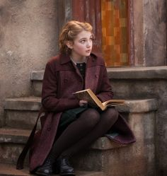 Liesel in The Book Thief