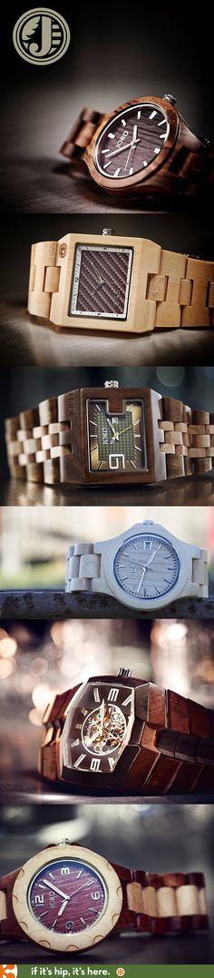 100% Natural Wood Watches for men and women.