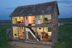 cool doll house   ... Abandoned Farm House to Life Size Dollhouse - My Modern Metropolis