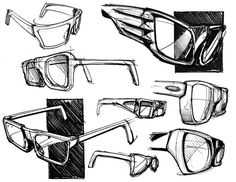 Are Glasses Perceived Differently Than Hearing Aids? Why Are Glasses Perceived Differently Than Hearing Aids? - Rebecca J. Rosen - The AtlanticWhy Are Glasses Perceived Differently Than Hearing Aids? - Rebecca J. Rosen - The Atlantic Glasses Sketch, Types Of Furniture, Furniture Sketches, Furniture Layout, Furniture Design, Industrial Design Sketch, Sketches Tutorial, Black And White Drawing, N21