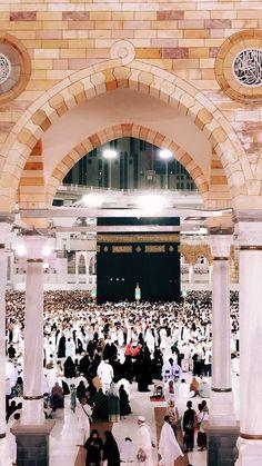 Com: Kaabah, Masjidil Haram - Makkah Mecca Madinah, Mecca Masjid, Mecca Wallpaper, Islamic Wallpaper, Masjid Al Haram, Islamic Images, Islamic Pictures, Islamic Art, Islamic Quotes