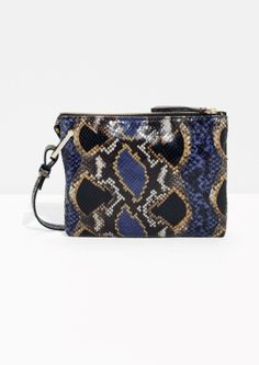 & Other Stories   Reptile Embossed Bag