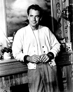 Glenn Ford (1916 - 2006) a Canadian-born American actor from Hollywood's Golden…                                                                                                                                                                                 More