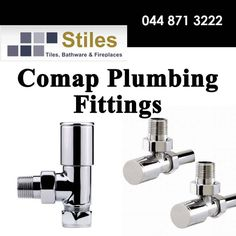 At Stiles we stock high quality products for kitchen and bathroom improvement, visit us in store to have a look at our range of durable Comap plumbing utilities. #diy #homeimprovement #lifestyle